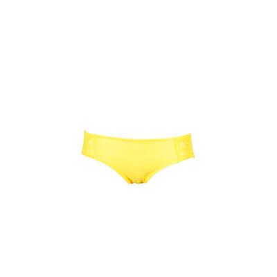 Braga de traje de baño amarillo Shimmer