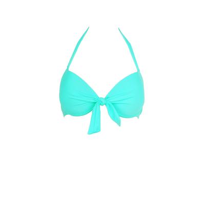 Mon Push-up Bikini -Traje de baño balconnet Verde Esmeralda (Top)