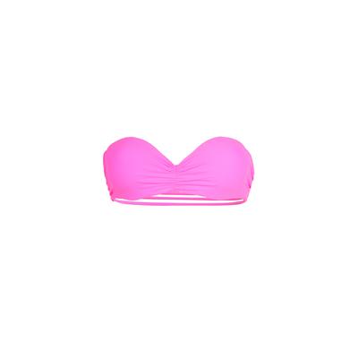 Mon Teenie Bikini - Top de traje de baño forma banda push-up Rosa