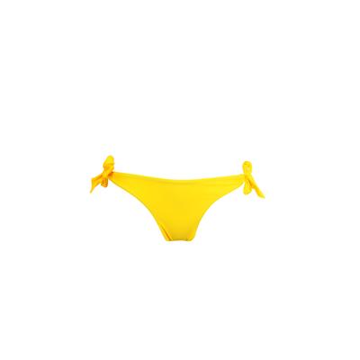 Mon Mini Bikini - Traje de baño tanga amarillo con nudos
