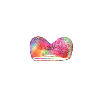 Mon Teenie Bikini Exotique - Bikini banda multicolor multiligas (top)