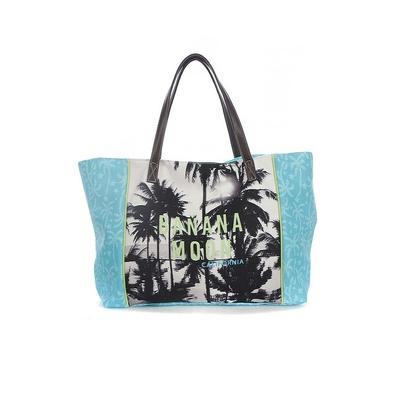 Bolso de playa azul turquesa Berenson
