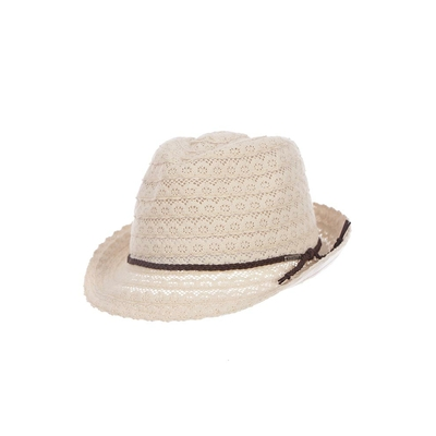 Sombrero de playa color crudo Fullsun Hatsy