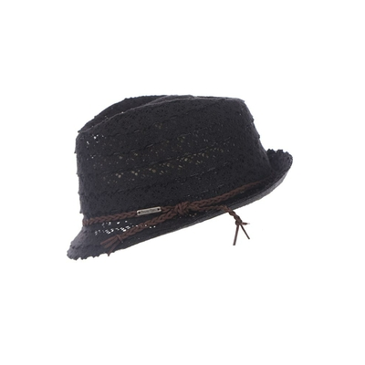 Sombrero de playa negro Fullsun Hatsy