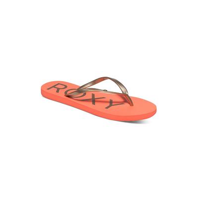 Sandalias color coral de mujer Sandy