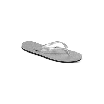 Sandalias plateadas Viva de mujer