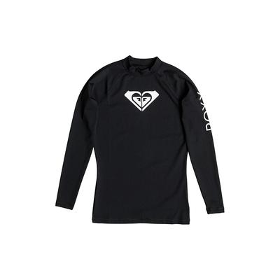 Camiseta de surf manga larga WholeHeartLs negra