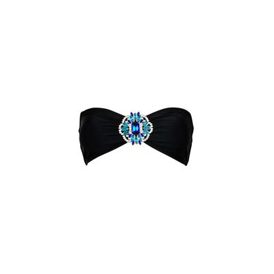 Mon Bandeau con joya negro - Traje de baño banda (top)
