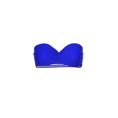 Mon Teenie Bikini azul rey - Traje de baño banda multitiras (top)