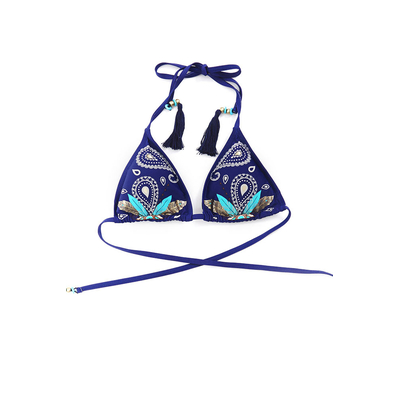 Traje de baño triángulo azul Bandy Hipanema Amenapih (Top)