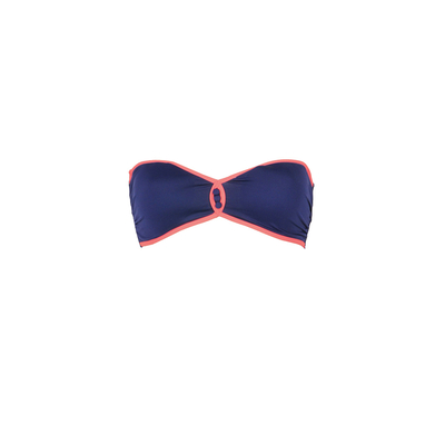 Traje de baño banda azul marino Lipsi (top)