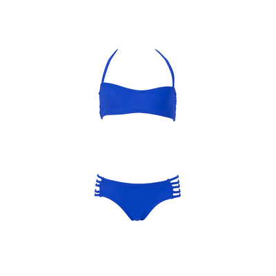 Mon Mini Teenie Bikini azul rey - Bikini dos piezas niña