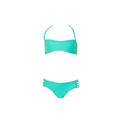 Mon Mini Teenie Bikini verde esmeralda - Bikini dos piezas niña