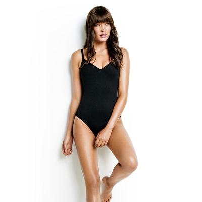 Bañador negro Sweetheart Seafolly