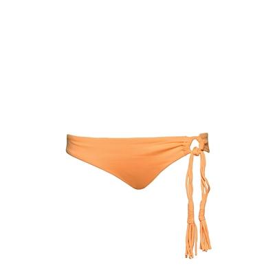Biquini con tiras anaranjado Seafolly (braguita)