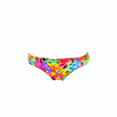 Biquini tanga floreado multicolor Valisia (braguita)