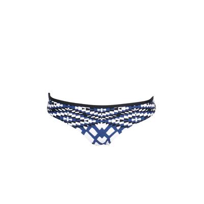 Braguita clásica de biquini azul acero Modern Tribe