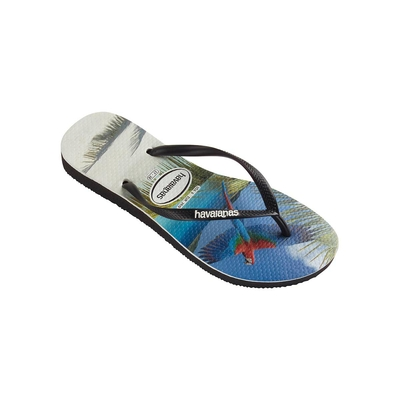 Chanclas de colores con estampado Papagayo Buzios