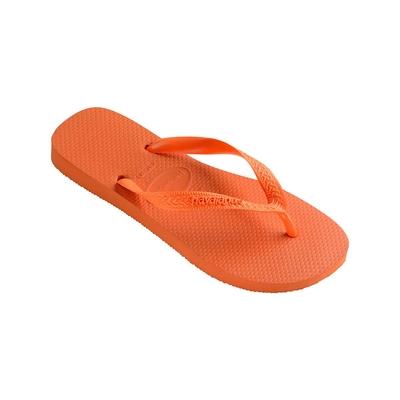 Chanclas anaranjadas fluo Top