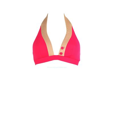 Huit top de traje de baño - Triángulo sostén con espuma Smarty rosa