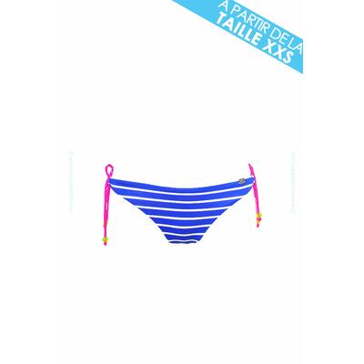 Banana Moon Teens - Braga de bikini rayas azules fluo Playlist