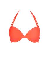 0d0cc8ed343b Mon Néoprène Bikini - Braga de traje de baño Coral y azul rey