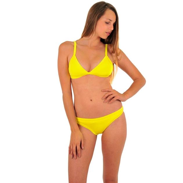 42228af0a66f Mi Neopreno Bikini triángulo amarillo (top)