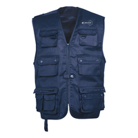 Gilet ambulancier multi-poches non doublé - 1202