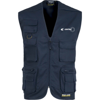 Gilet ambulancier multi-poches non doublé - S3100