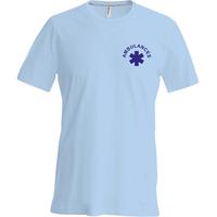 Tee shirt uni en coton - Qualité supérieure -  Homme - K356