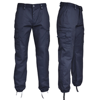 Pantalon ambulancier - Multipoches - Déperlant - Elastiqué - 10107