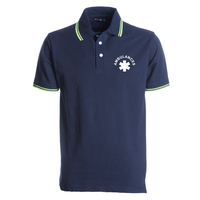 Polo homme - Col et manches fluo - Skipper