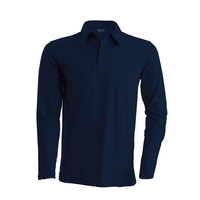 Polo coton - Manches longues - Homme - K243