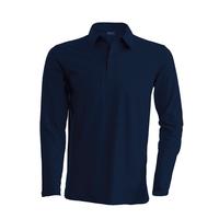 Polo coton - Manches longues - Homme - K243