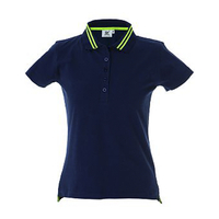 Polo col fluo - Femme - Tenerife