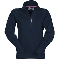 Sweat demi zip - Coton/polyester - Premier prix - Miami Lady