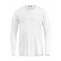 Tee shirt pré-rétréci en coton peigné - Manches longues - 029329
