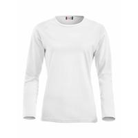 Tee shirt pré-rétréci en coton peigné - Manches longues - 029330