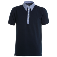 Polo coton piqué - Bicolore - Homme - Travel