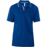 Polo - Manches courtes - Homme - Bleu Royal