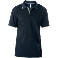 Polo - Manches courtes - 60/40 - Homme - Marine