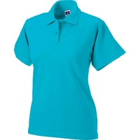 Polo - Femme - Turquoise