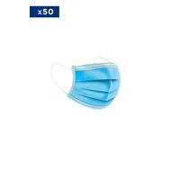 RV004X - Masque médical Jetable - 3 Couches - Vendu par Pack de 50 ex