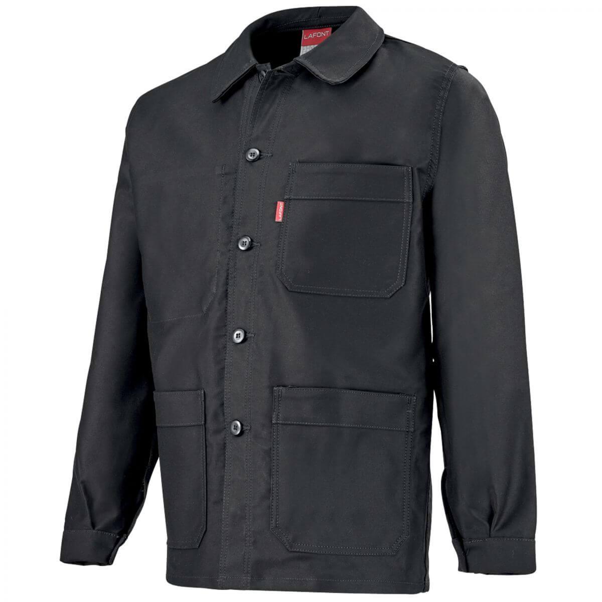 veste de travail noire pour homme vestes et blousons de travail. Black Bedroom Furniture Sets. Home Design Ideas