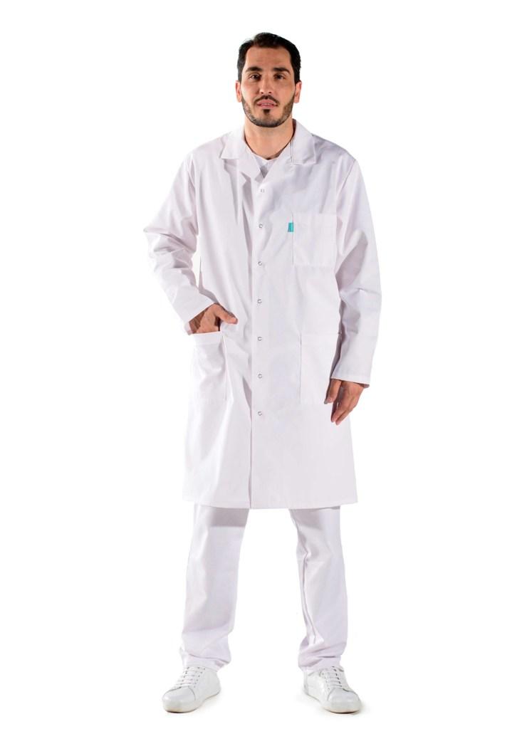 blouse blanche m dicale pour homme blouses laboratoire lafont. Black Bedroom Furniture Sets. Home Design Ideas