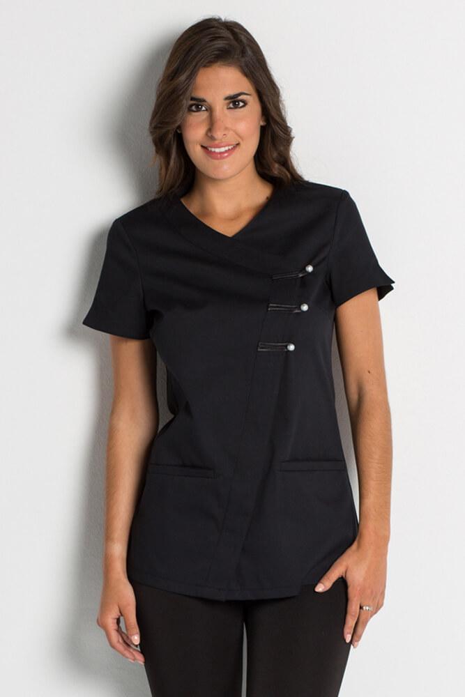 blouse esth ticienne versailles noire vendue sur. Black Bedroom Furniture Sets. Home Design Ideas