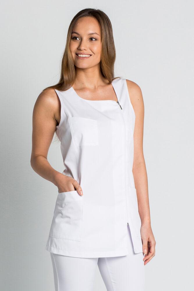 blouse blanche sans manche luxe style v tements de travail. Black Bedroom Furniture Sets. Home Design Ideas