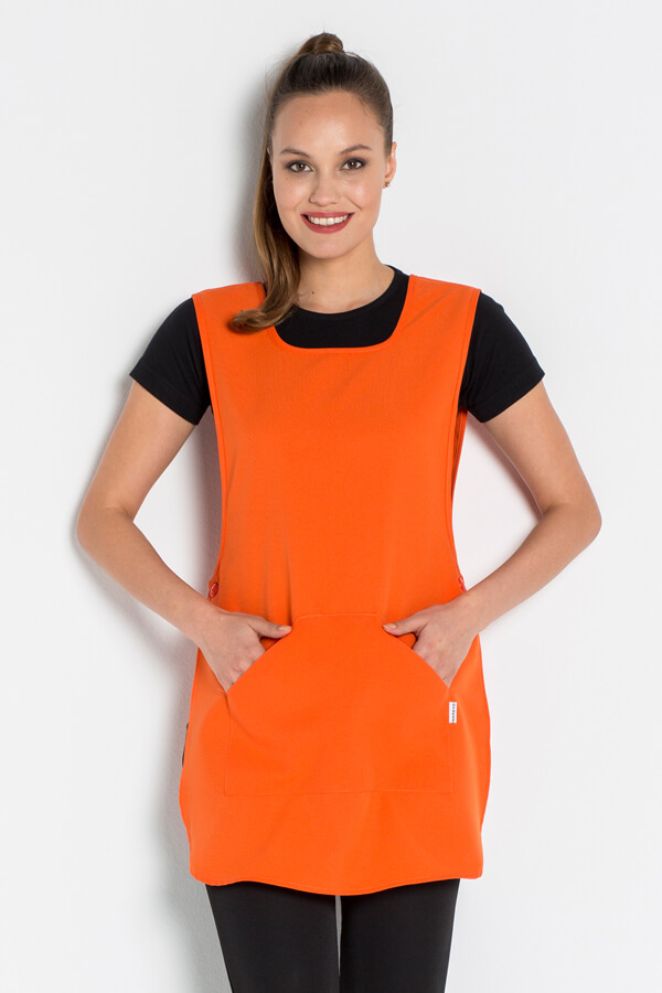 Chasuble de travail orange