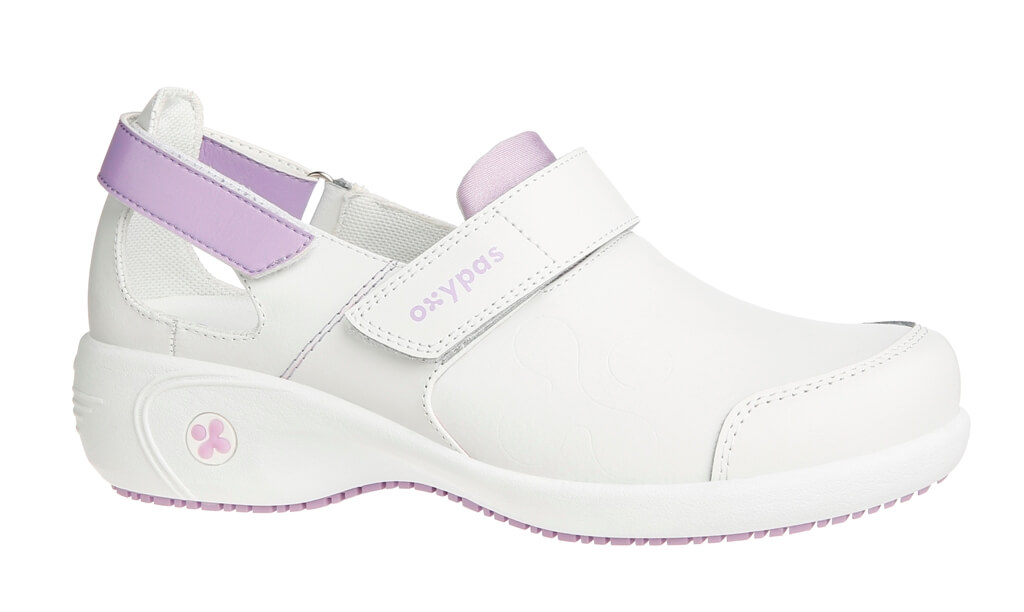 Chaussures blanche et rose de travail Salma ultraconfortable Mgf9Z5GVg