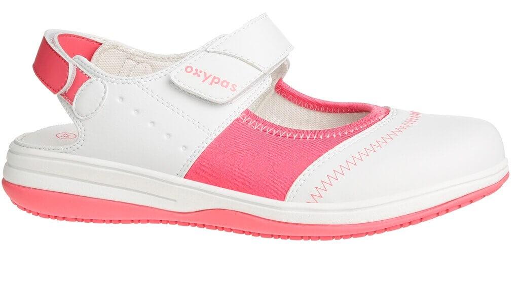 e046045f263 Acheter sandale médicale blanche et rose SRC ESD Oxypas Melissa